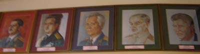 Галерея портретов выпускников СВУ, НВМУ и КК
