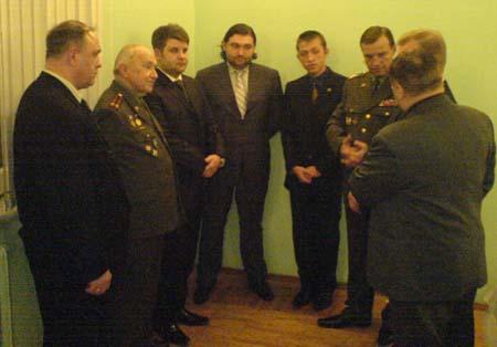 Члены Попечительского Совета Санкт-Петербургского суворовского военного училища