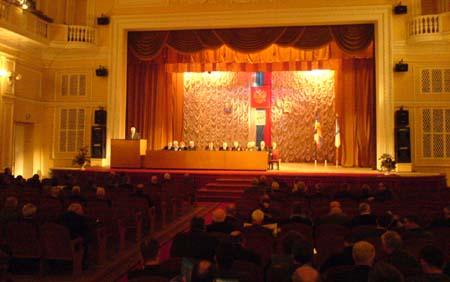 Собрание Союза суворовцев в Петербурге